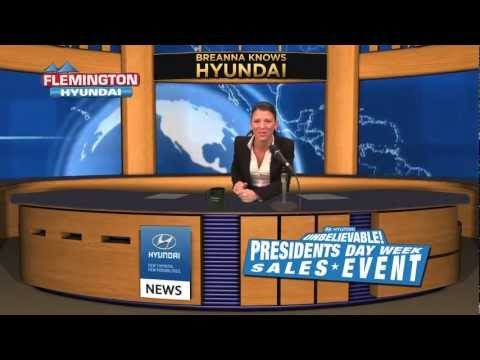 FLEMINGTON HYUNDAI PRESIDENTS' DAY 2013 PRES. OBAMA COMMERCIAL in HD