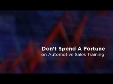 Intermediate Automotive Sales Training Book