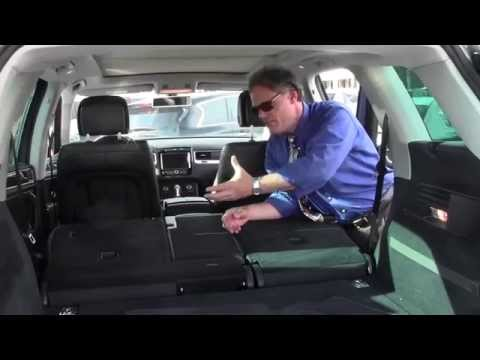 Automotive Video Presentation Pioneer Ken Beam shows 2011 VW Touareg LUX at Douglas Infiniti Summit NJ