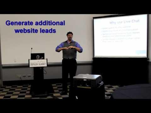 Why use live chat on dealer websites? - from IDS Denver 2015