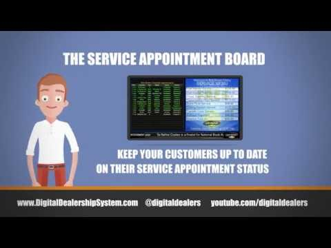 Service Appointment Boards from DDS