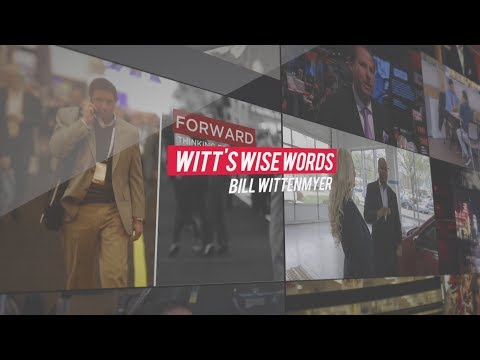 Witt's Wise Words - Video Sells