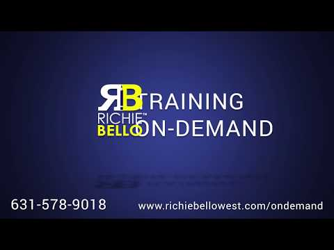 Richie Bello Training 631-578-9018