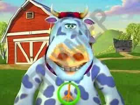 Сумасшедшая корова!