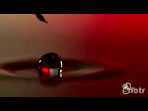 Drop Of Water In Slow Motion