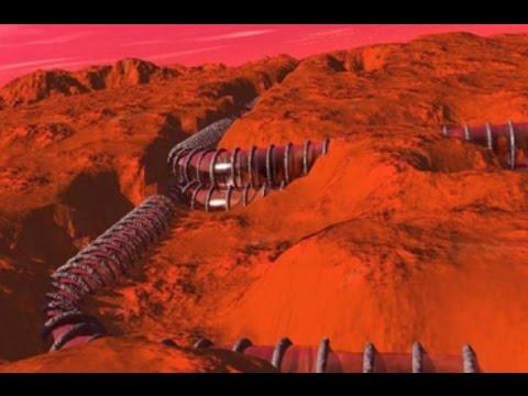 Марс дороги, руины городов, пирамиды, тоннели под землю, секретные территории, документальный фильм