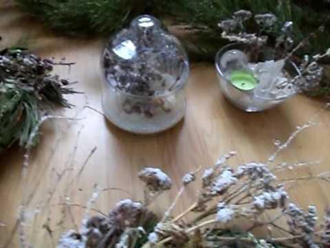 Новогодние веночки-очистители энергий и событий 2017 года. Практика