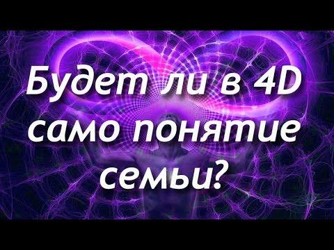Будет ли в 4D понятие семья?