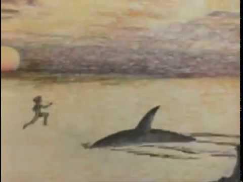 """""""Девочка и дельфин"""", добрый и светлый мультфильм"""