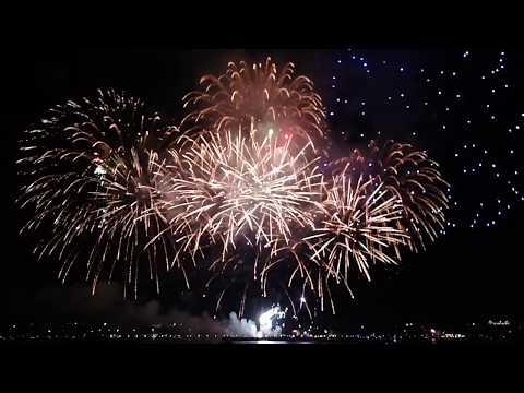 Международный фестиваль фейерверков «Серебряная ладья» в Костроме 2017 2 «Фейерверки России», город