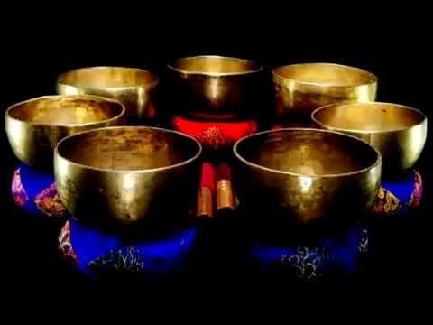 Медитация   Тибетские поющие чаши   Чакра Исцеление   Тон D #