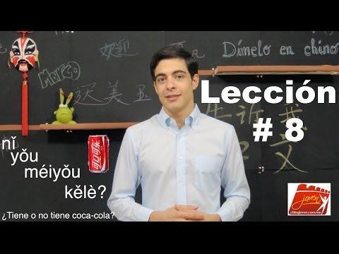 Clases de Chino | Lección # 8 | Chino Mandarín Básico | Dímelo en Chino