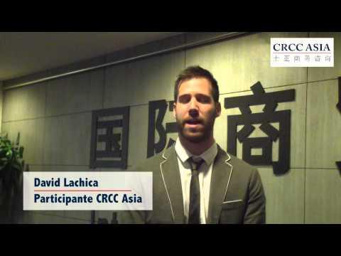 Conoce a David Lachica - Participante de CRCC Asia 2014 en Shanghai