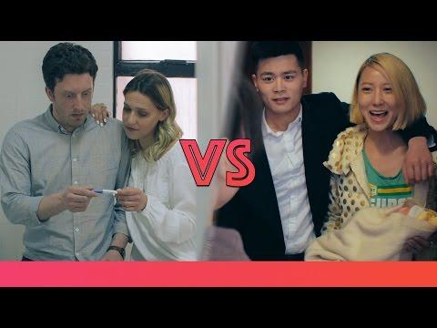 Parejas chinas vs Parejas occidentales
