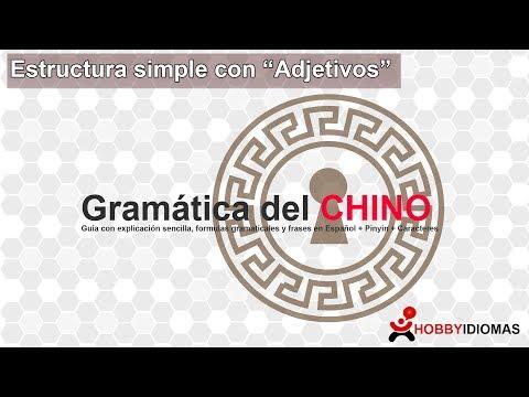 "Estructuras simples con ""Adjetivos"" - Chino Mandarín"