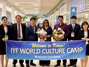 Warm Welcome To Sandeep Marwah At South Korea
