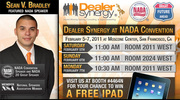 Automotive Internet Sales Expert Sean V. Bradley is Speaking & Exhibiting at the NADA Convention in San Francisco February 2011