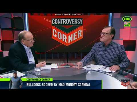 Buzz Rothfield getting rekt on Controversy Corner over Bulldogs Mad Monday