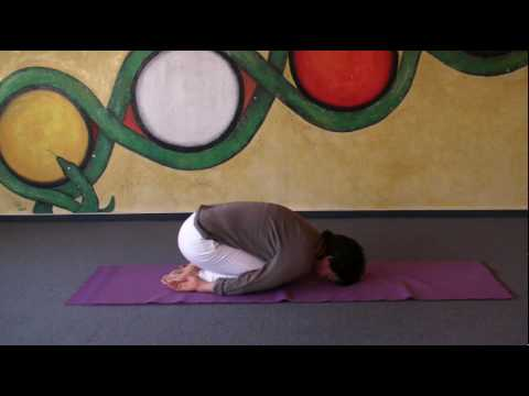 Child's Pose - Basic Posture - Relax your back