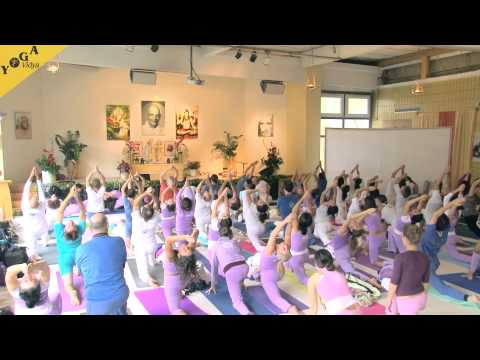 "Yoga Class with Amrta Suryananda Maha Raja – ""Maha Sadhana"""