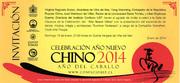 Celebración Año Nuevo Chino 2014 (Viña del Mar)