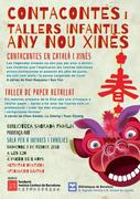 Cuentacuentos y talleres infantiles del Año Nuevo Chino