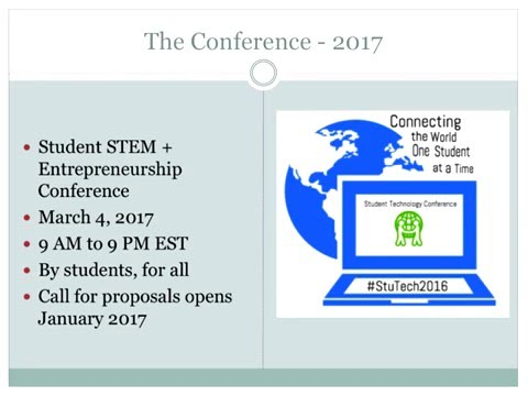 Students as Technology Leaders and Collaborators: The Student Technology Conference