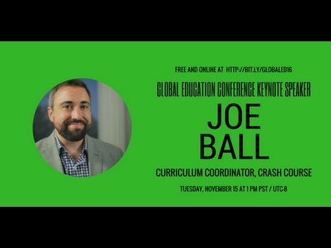 2016 GEC Keynote - Joseph Ball