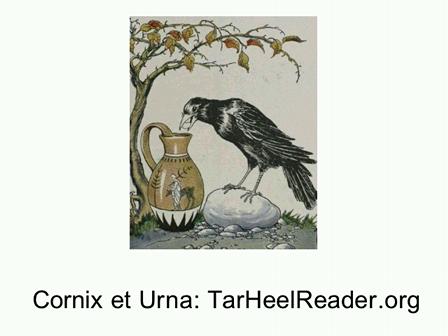 Fabella (8): Cornix et Urna