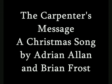 The Carpenter's Message