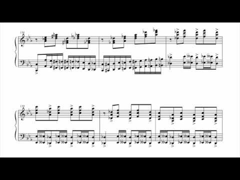 Piano Sonata No.1 1st & 2nd Movements - Seongjean Moon(2004) (1/2)