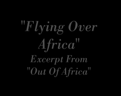 Flying Over Africa