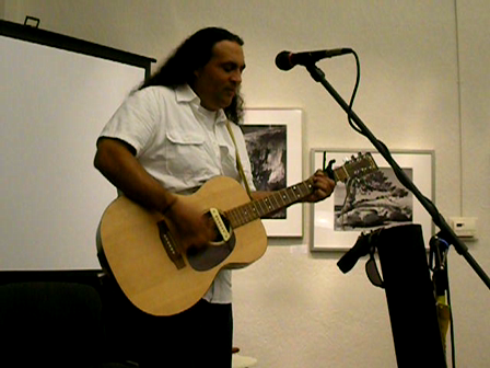 Lance Canales at the K-Jewel Art Gallery