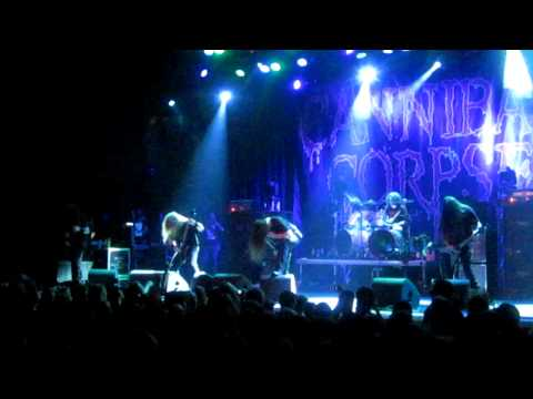 Cannibal Corpse - Hammered/ Stripped  ( Live @ Neurotic DeathFest 2012, 013 Tilburg)