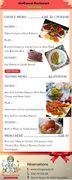 Special Menu of ShriGanesh Restaurant