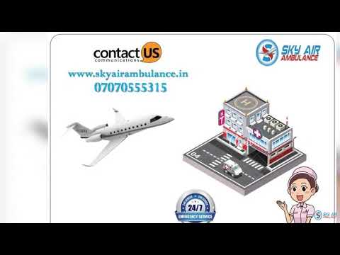 Select Superior and Trusted Air Ambulance Service in Jabalpur