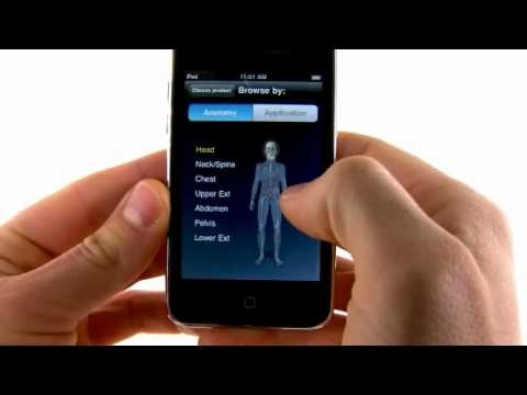 Clinical IMAGES iPhone app developed by GE Healthcare
