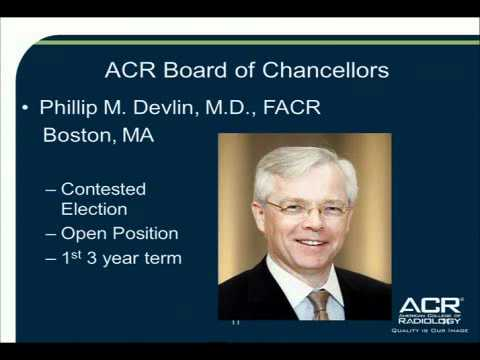 ACR: College Nominating Committee 2012 Elections
