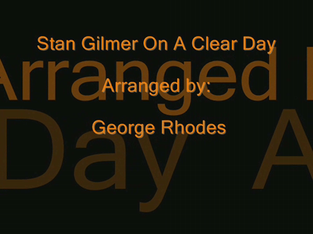 On A Clear Day Stan Gilmer