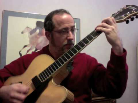 Moonlight In Vermont: a solo guitar performance by Ken Karsh
