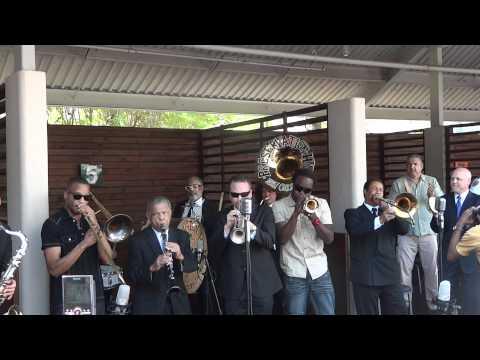 Preservation Hall Jazz Band, Trombone Shorty, Shamarr Allen & Mayor Landrieu