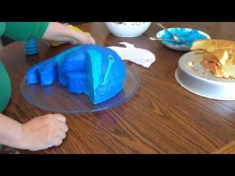 Fun Dolphin Birthday Cake