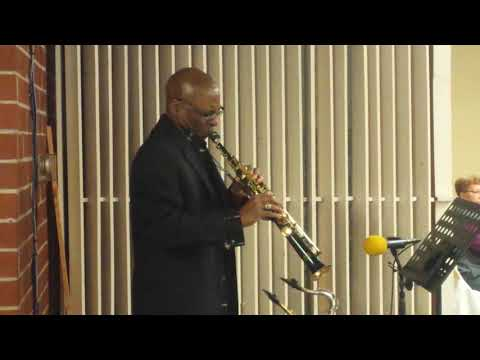 """Charlie C. Gatewood, Jr. Playing """"Open my Heart"""""""