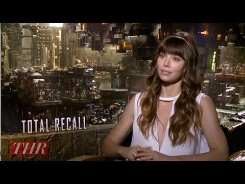 Cinefest Coverage:  Jessica Biel on Her 'Total Recall' Fight with Kate Beckinsale