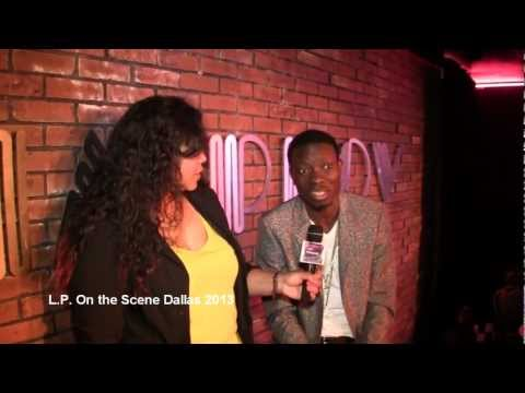 L.P. On the Scene Dallas Michael Blackson Interview 2013