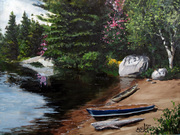 Canoes in the Morning