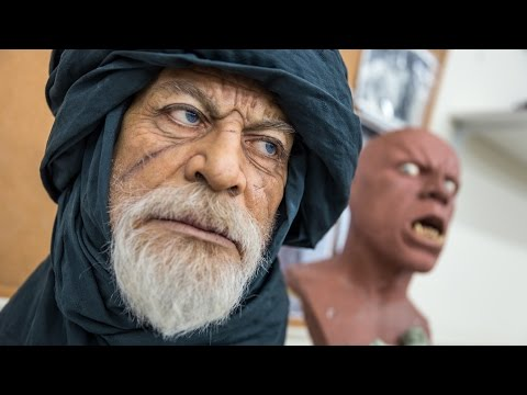 UJD | Artistry:  The Creature and Portrait Sculptures of Mike Hill