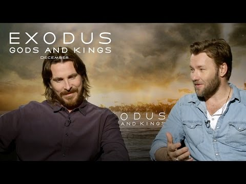 Cinefest Coverage: Exodus: Gods and Kings | Christian Bale and Joel Edgerton Interview [HD] | 20th Century FOX