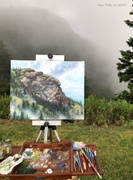 Devil's Courthouse Plein Air