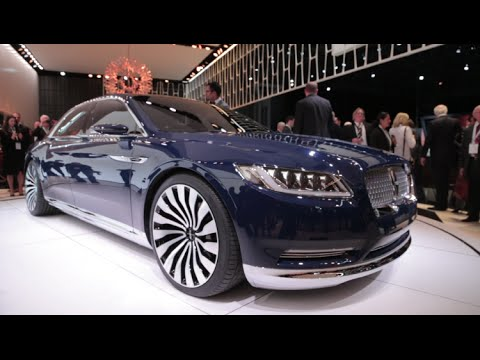 Founder's Court   Uxe: Lincoln Continental Concept - 2015 New York Auto Show